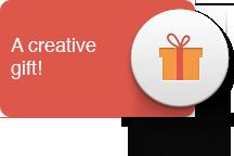 Button creative gift